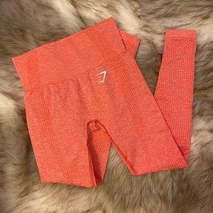 Gymshark Vital Seamless Leggings - Coral Marl XS